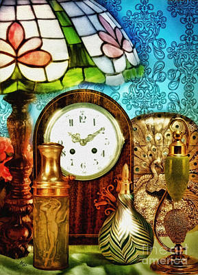 Glass Wall Digital Art - Moment In Time by Mo T