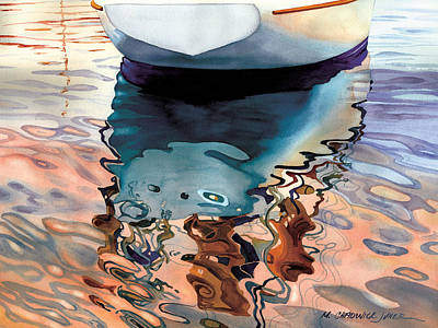 Moment Of Reflection Viia Print by Marguerite Chadwick-Juner