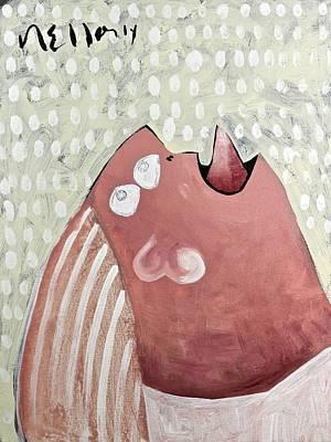 Screaming Mixed Media - Momentis  The Wailing Sisterg Sister by Mark M  Mellon