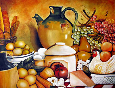Mom's Kitchen Original by Dalgis Edelson