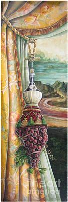 Mona Chianti Tassel Print by Suzanne Rende-Chorno