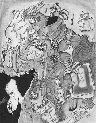 Mona Creepa Print by Dan Twyman