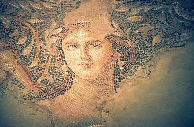 Mosaic Photograph - Mona Lisa Of The Galilee by Photostock-israel