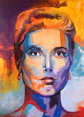 Monaco Eyes - Grace Kelly Original by Robert Busse