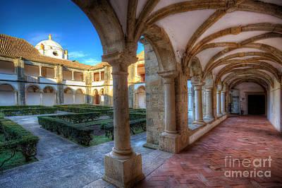 Monastery Of Nossa Senhora Da Assuncao Print by English Landscapes
