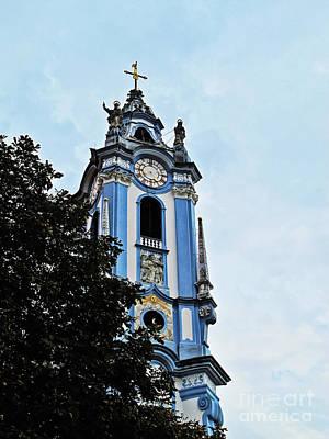 Durnstein Photograph - Monastic Church by Elvis Vaughn