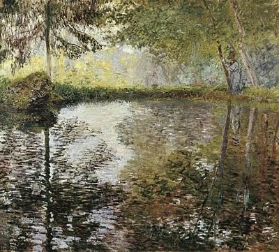 Monet, Claude 1840-1926. Pond Print by Everett