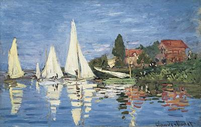 Impressionist Impressionist Photograph - Monet, Claude 1840-1926. Regatta by Everett