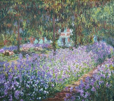 Impressionist Impressionist Photograph - Monet, Claude 1840-1926. The Artists by Everett