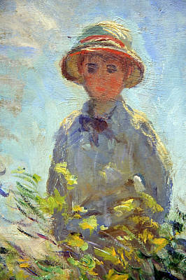 Monet Lady Photograph - Monet's Son Jean -- From Woman With A Parasol Or Madame Monet And Her Son by Cora Wandel