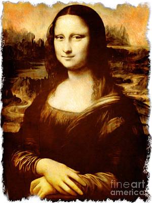 Monna Lisa Original by Stefano Senise