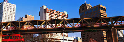 Monorail System In Memphis, Tennessee Print by Panoramic Images