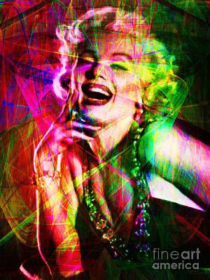 Royalty Digital Art - Monroe 20130618so by Wingsdomain Art and Photography