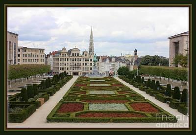 Bruxelles Photograph - Mont Des Arts Towards The Grand Place by Carol Groenen
