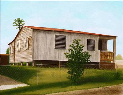 Montalvo Family House - Puerto Rico Print by Robin Capecci