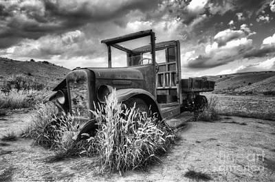 Bannack Ghost Town Photograph - Montana Hauler by Bob Christopher
