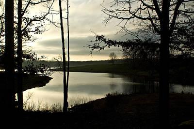 Homesickness Photograph - Monterey Silver Lake by Douglas Barnett