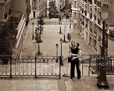 Montmartre Moment Print by Nikolyn McDonald