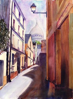 Ressler Painting - Montmartre Morning by John Ressler