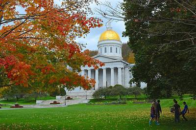 Hacky Sack Photograph - Montpelier Vermont by Tana Reiff