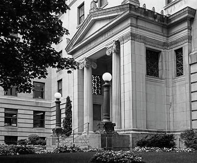 Montreal Landmarks Photograph - Montreal Board Of Trade  Montreal by David Chapman