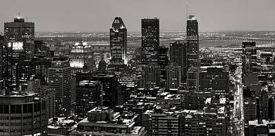 Montreal City Print by Pierre Leclerc Photography