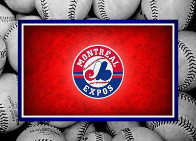 Montreal Expos Print by Joe Hamilton
