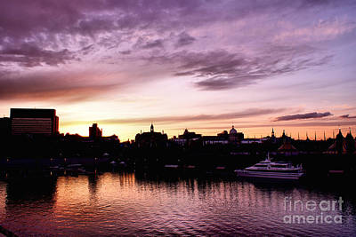 Old Montreal Photograph - Montreal Old Port Sunset by Aimelle