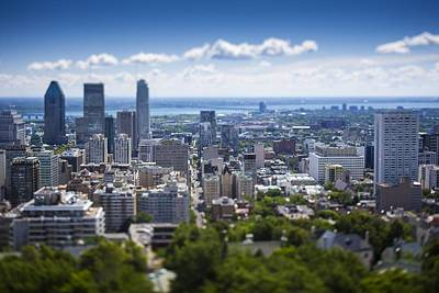 Que Photograph - Montreal by Robert Davis
