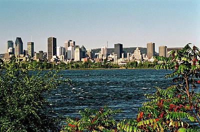 St. Laurent Photograph - Montreal - Sur Le Fleuve  by Juergen Weiss