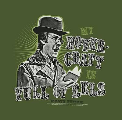Python Digital Art - Monty Python - Dirty Hungarian Phrasebook by Brand A