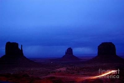 Monument Valley Awakens Print by C Lythgo