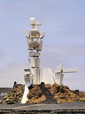 Monumento Al Campesino On Lanzarote Print by Karol Kozlowski