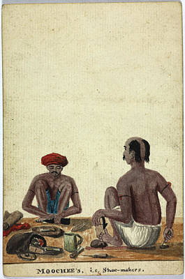 Moochee's Print by British Library