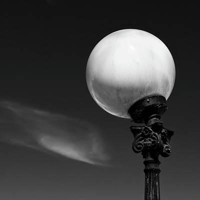 Orbs Photograph - Moon Light by Dave Bowman