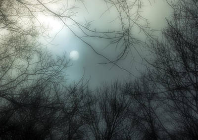 Must Art Photograph - Moon Over Billy Goat Trail by Francis Sullivan