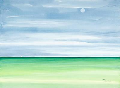 Moon Over Islamorada Original by Michelle Wiarda