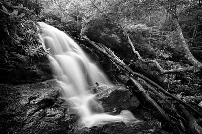 Western North Carolina Photograph - Mooney Falls by Tommy  White
