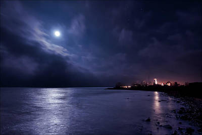 Moonlight Bay Print by EXparte SE