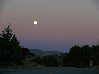 Photograph - Moonlight Stroll by Jacquelyn Roberts