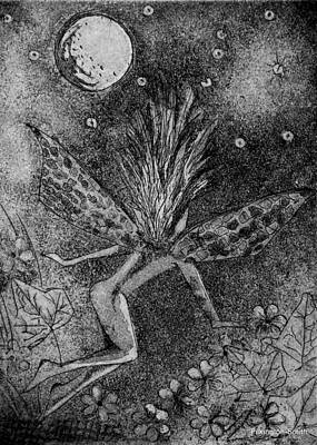 Moonlit Path Print by Stacey Pilkington-Smith