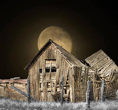 Moonshine Print by Stellina Giannitsi