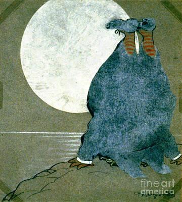 Moonstruck 1913 Print by Padre Art