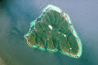 Moorea Photograph - Moorea by Nasa