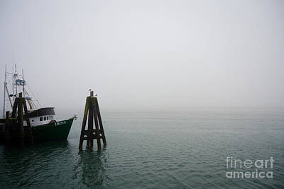 Photograph - Moored by CML Brown