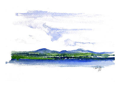 Moosehead Lake Print by Paul Gaj