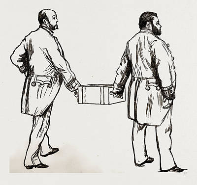Moral Drawing - Moral, 1886 by Litz Collection