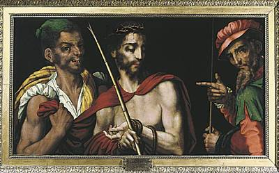 Morales, Lu�s De 1515-1586. Christ Print by Everett
