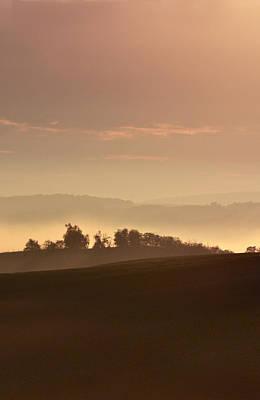 Moravia At Dawn Print by Jaroslaw Blaminsky