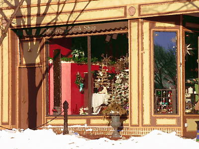 Moravian Book Shop Bethlehem Pa Print by Jacqueline M Lewis